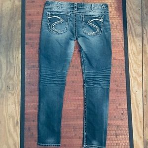 Current Style Silver Jeans SZ 30 Straight Leg